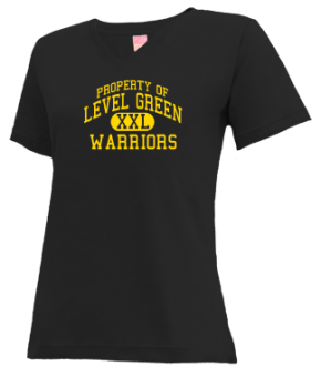 Level Green Elementary School V-neck Shirts