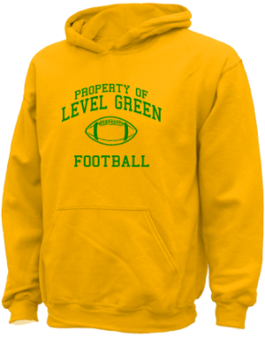 Level Green Elementary School Kid Hooded Sweatshirts