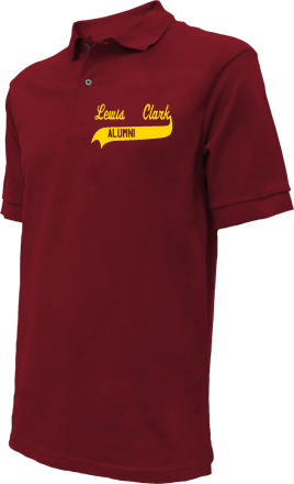 Lewis & Clark Elementary School Embroidered Polo Shirts