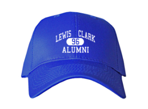 Lewis & Clark Elementary School Embroidered Baseball Caps