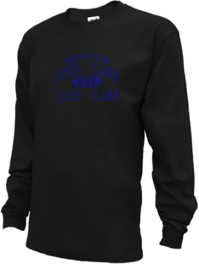 Lewis & Clark Middle School Kid Long Sleeve Shirts