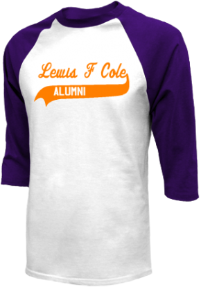 Lewis F Cole Middle School Raglan Shirts