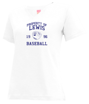Lewis High School V-neck Shirts
