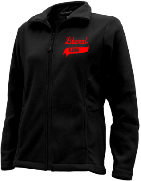 Liberal High School Embroidered Fleece Jackets