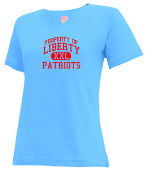 Liberty Elementary School V-neck Shirts