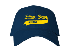 Lillian Drive Elementary School Embroidered Baseball Caps