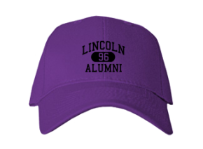Lincoln Elementary School Embroidered Baseball Caps