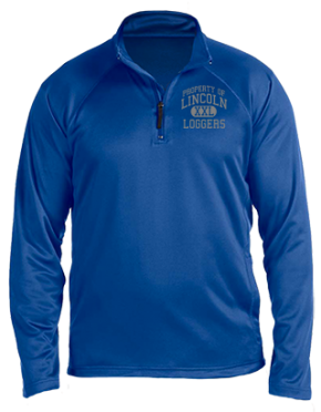 Lincoln Elementary School Stretch Tech-Shell Compass Quarter Zip