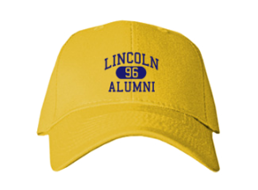 Lincoln High School Embroidered Baseball Caps