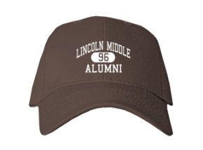 Lincoln Middle School Embroidered Baseball Caps