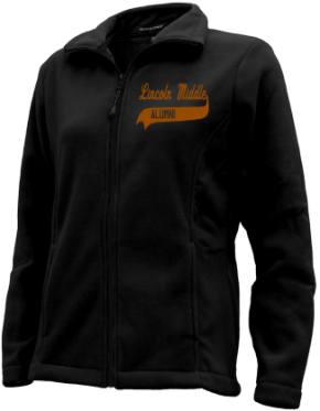 Lincoln Middle School Embroidered Fleece Jackets