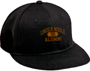 Lincoln Middle School Flat Visor Caps