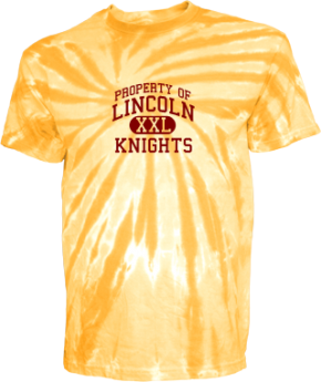 Lincoln Middle School Kid Tie-dye T-Shirts