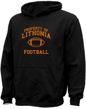 Lithonia High School Kid Hooded Sweatshirts
