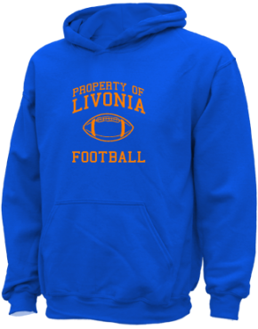 Livonia Primary School Kid Hooded Sweatshirts