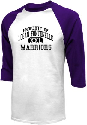 Logan Fontenelle Middle School Raglan Shirts