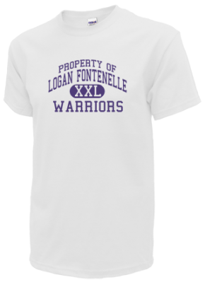 Logan Fontenelle Middle School Kid T-Shirts