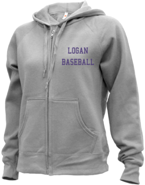 Logan High School Zip-up Hoodies