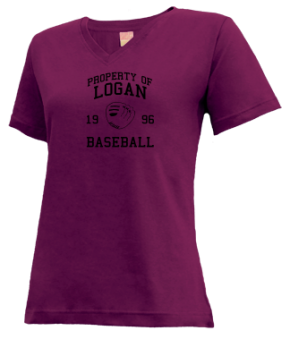 Logan High School V-neck Shirts