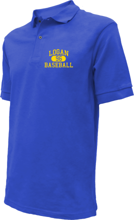 Logan High School Embroidered Polo Shirts