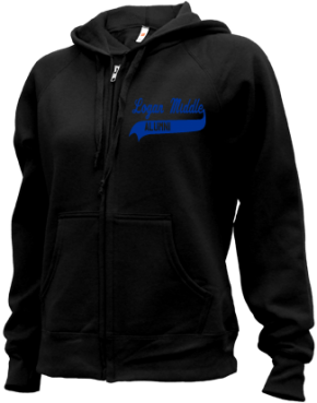 Logan Middle School Zip-up Hoodies