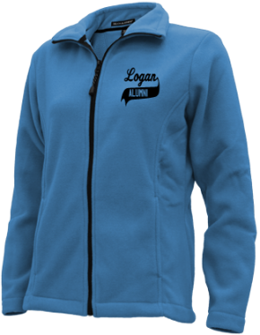 Logan Middle School Embroidered Fleece Jackets