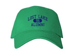 Lost Lake Elementary School Embroidered Baseball Caps