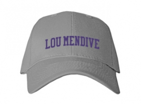 Lou Mendive Middle School Kid Embroidered Baseball Caps