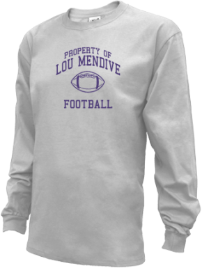 Lou Mendive Middle School Kid Long Sleeve Shirts