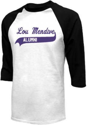 Lou Mendive Middle School Raglan Shirts
