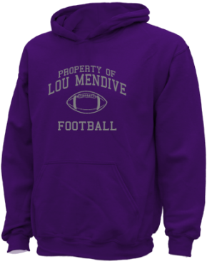 Lou Mendive Middle School Kid Hooded Sweatshirts