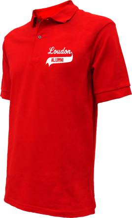 Loudon Elementary School Embroidered Polo Shirts