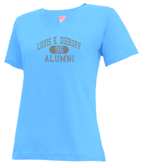 Louis E. Dieruff High School V-neck Shirts