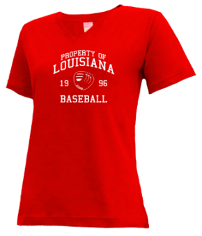 Louisiana High School V-neck Shirts