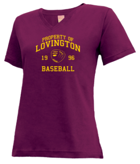 Lovington High School V-neck Shirts