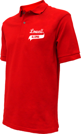Lowell Elementary School Embroidered Polo Shirts