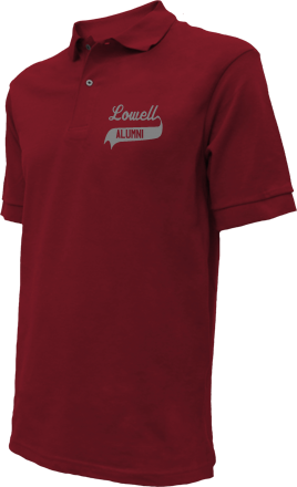 Lowell High School Embroidered Polo Shirts