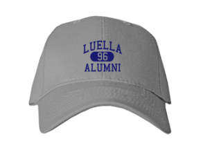 Luella High School Embroidered Baseball Caps