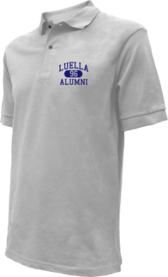 Luella High School Embroidered Polo Shirts