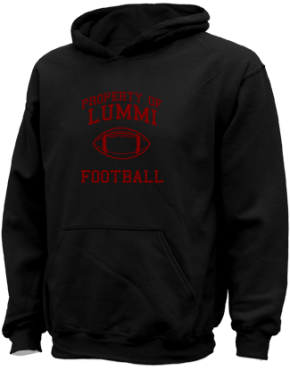 Lummi High School Kid Hooded Sweatshirts