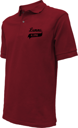 Lummi High School Embroidered Polo Shirts