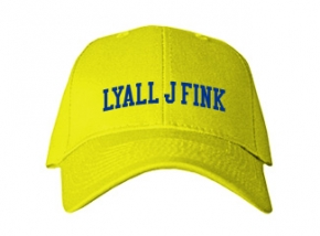 Lyall J Fink Elementary School Kid Embroidered Baseball Caps