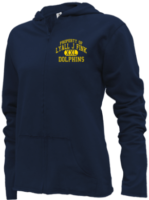 Lyall J Fink Elementary School Girls Zipper Hoodies