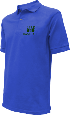 Lyle High School Embroidered Polo Shirts