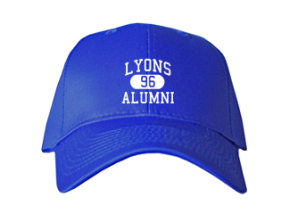 Lyons High School Embroidered Baseball Caps