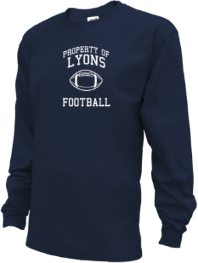 Lyons High School Kid Long Sleeve Shirts