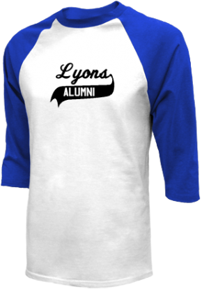 Lyons High School Raglan Shirts