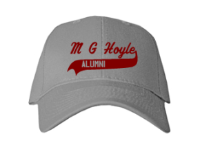 M G Hoyle Elementary School Embroidered Baseball Caps