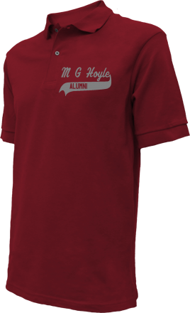 M G Hoyle Elementary School Embroidered Polo Shirts