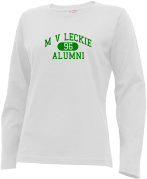 M V Leckie Elementary School Long Sleeve Shirts